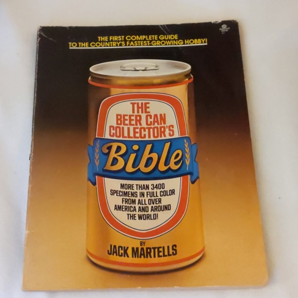 The Beer Can Collectors Bible Book 1977 Vintage